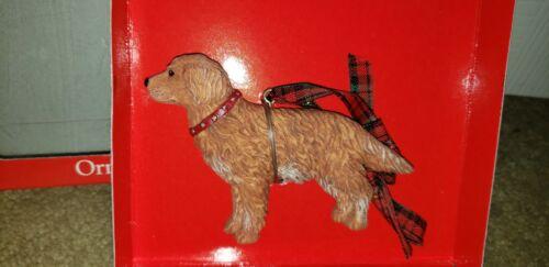 Kurt Adler GOLDEN RETRIEVER DOG Ornament New in Box