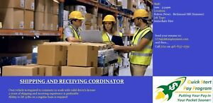 Shipping & Receiving Coordinator