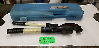 Thomas Betts Tbm14m 297-31858 14-ton Hyd Crimp Crimping Tool No Dies  Lot3