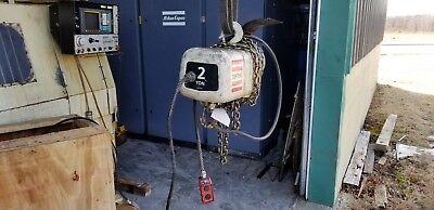 Coffing 2 Ton Electric Hoist Model Elc4800-3