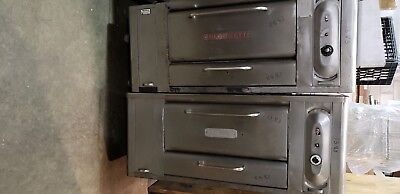 Blodgett 1048 Double Stack Gas Pizza Dough Bakery Deck Oven1383