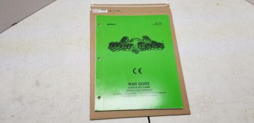 War Gods Manual #1370