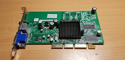Carte graphique AGP HP rv280-le-a062 RADEON 9200 128MB VGA video card