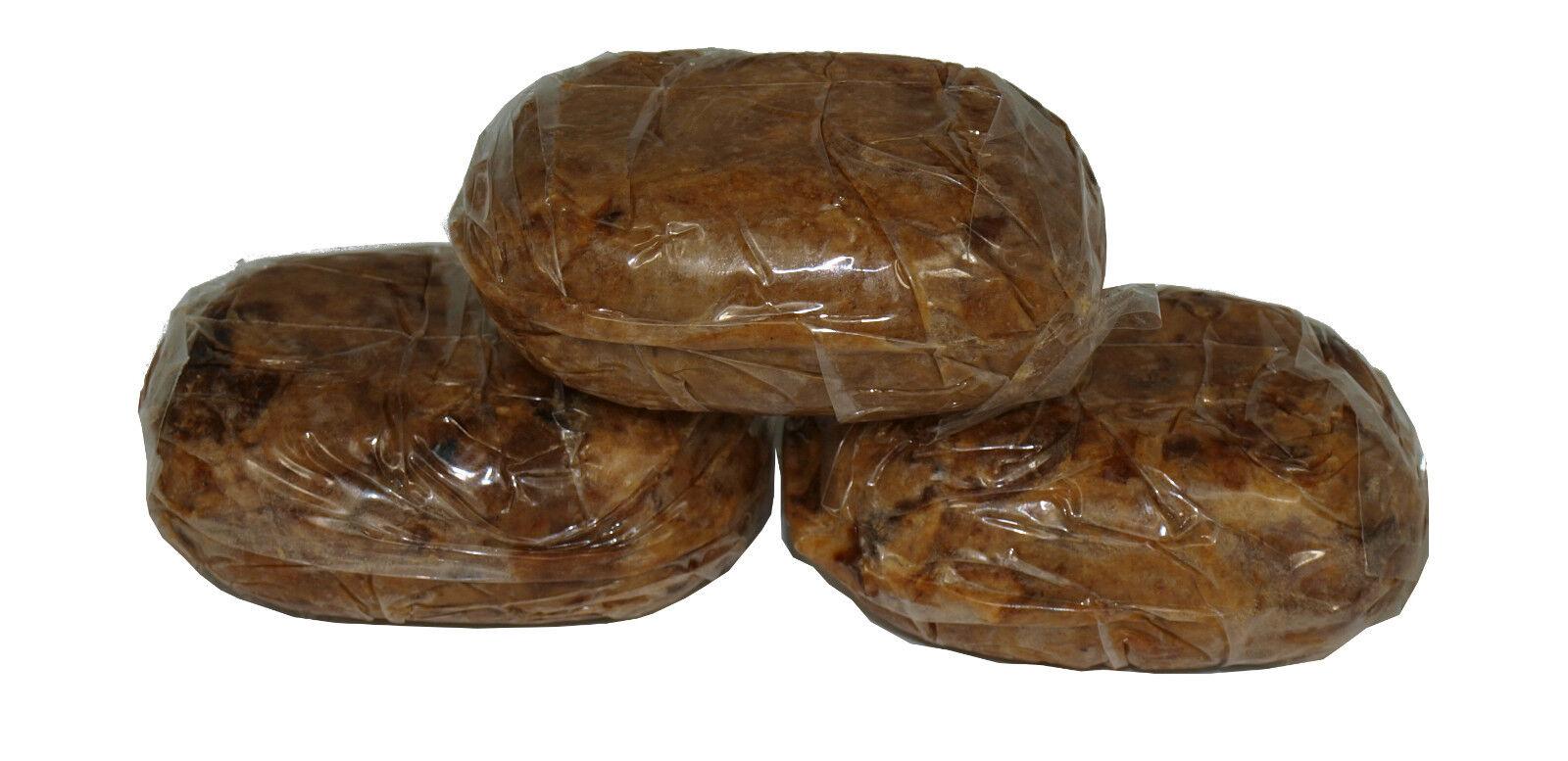 3 / 5 / 10x original Alata Samina Black Soap Dudu Osun schwarze Seife sheabutter