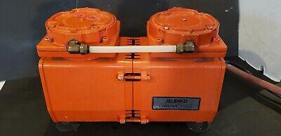 No.4 Jelenko Two Cylinder Vavuum Pump For Porcelain Furnace  Hd
