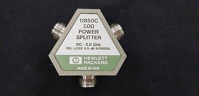 Hp11850c Three-way Power Splitter 50 Ohm