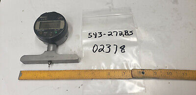 Mitutoyo 543-272bs Digital Indicator 4 Depth Gage Base Wnew Battery. Sn02378