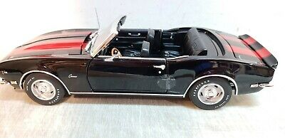 ACME 1:18 1968 CHEVROLET CAMARO Z/28 CONVERTIBLE - NEW - A1805715TG - BOX FLAW
