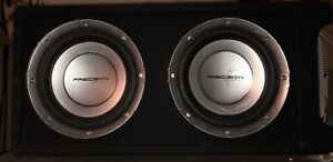 Precision Acoustics SUBS and AMP for Sale!!!