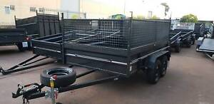 10x6 Tandem Box Trailer on Road $3850 with CAge Minchinbury Blacktown Area Preview