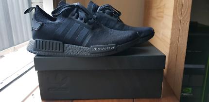 "Adidas NMD R1 Primeknit ""Japan"" Triple Black (Size US 10.5)"