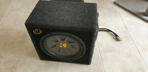 Used sub and amp