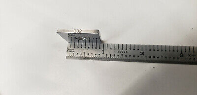 .102 Ellstrom Square Steel Gage Gauge Block.