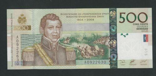 HAITI  500 GOURDES 2004 P- 277  UNC