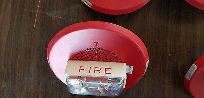 Wheelock Ch90-24mc Symplex Smoke Detctor Fire Alarm System Strobe Horn Red