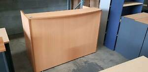 RECEPTION DESK counter table workstation front office furniture
