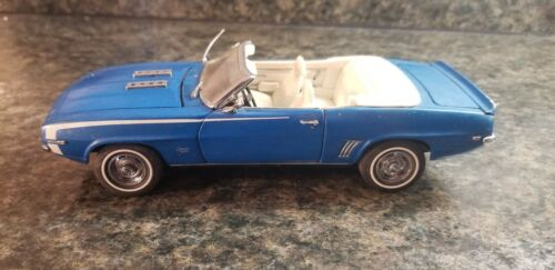The Danbury Mint 1969 Blue Chevrolet Camaro (Lot 930)