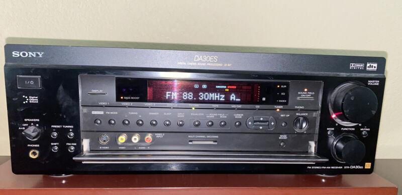 USED Sony STR-DA30ES FM Stereo FM-AM Receiver Dolby Digital