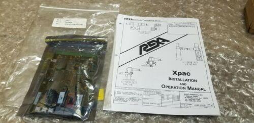 REXA OPERATING PARAMETER CPU KIT , 1202773/S96548-K ~ NEW (50)