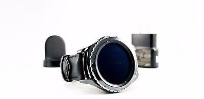 SAMSUNG GALAXY GEAR S2 CLASSIC BLACK SM-R735A SMARTWATCH AT&T Unlocked GSM