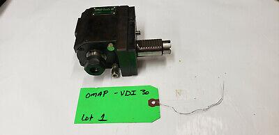 Omap Tools Vdi-30 Live Tooling Radial Drilling Milling Head. Lot1 Shelf Q4