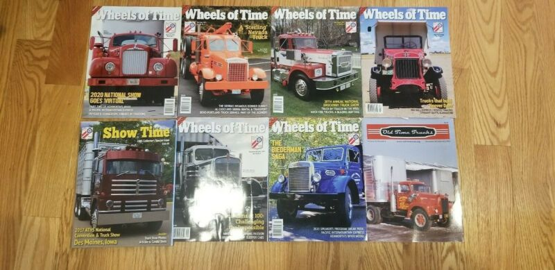 wheels of time trucking magazine vintage trucking company memorabilia