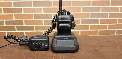 Vertex Vx-160v Vx-160 Vhf 2 Way Radio With Charger Mic Antenna