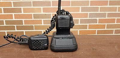 Lot Of 5 Vertex Vx-160v Vx-160 Vhf 2 Way Radio With Charger Mic Antenna