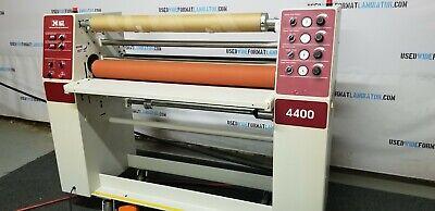 Agl 4400 Dual Heat Roll Laminator - Laminates Media Up To 42 Wide