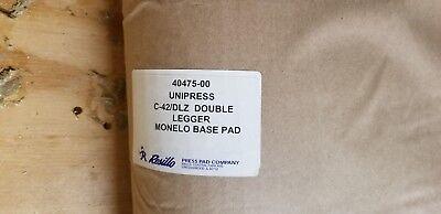 Unipress 40475-00 Double Legger Monelo Base Pad Dlz New