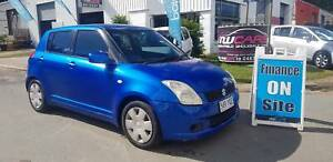 2006 Suzuki Swift GLX Manual 5 Door Hatch Low Km's $4990 On Road