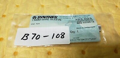Synthes 323.023 Surgical Orthopedic 1.6mm Wire Sleeve