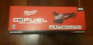 Milwaukee fuel angle grinder