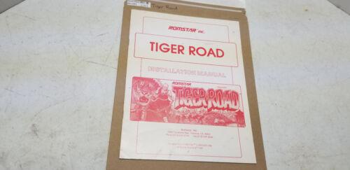 Tiger Road Romstar Manual #1363