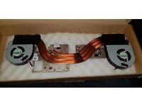 55MXD Precision 7720 Genuine OEM CPU GPU Heatsink Fan