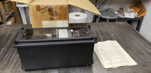 General Electric 12CFVB11B5A Voltage Balance Relay in Box 120V  NEW SURPLUS