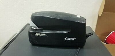 Corporate Express 5991 Automatic Electric Office Stapler Black