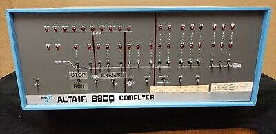 MITS ALTAIR 8800 - Powered Up! with Manuals & Shugart 400 Floppy Disc Drive