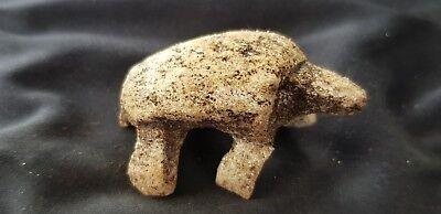 VR.Viking Domestic animal/cattle bone Amulet please read description. L101e
