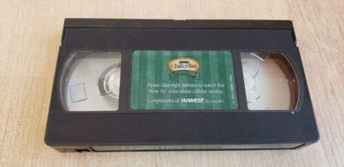 The Chatter Box Video - US WEST CELLULAR - How To VHS Tape