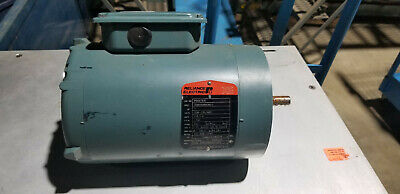 Baldor 1hp Ac Electric Xe Motor 56c Frame 208-230460 Vac 3 Phase 1740rpm