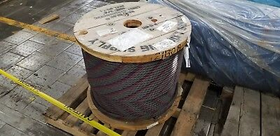 34 Wire Rope Cable 1500 Ft 6x36 Ws Iwrc Bulk Sling Choker Winch Line Eips