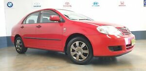 2006 TOYOTA Corolla ASCENT North St Marys Penrith Area Preview