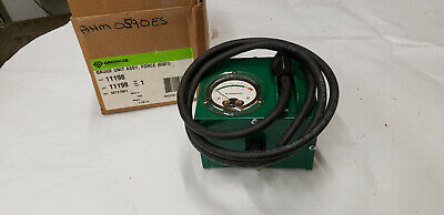 Greenlee 11198 6501 Cable Tugger Force Gauge 5000 Lb Cap New In Distressed Box