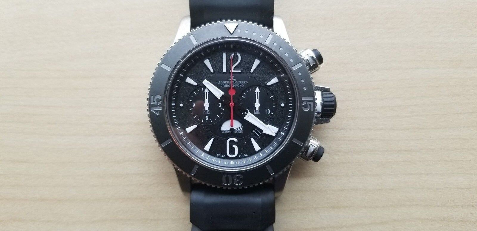 Jaeger LeCoultre Master Compressor Diving Chronograph GMT Navy Seals - watch picture 1