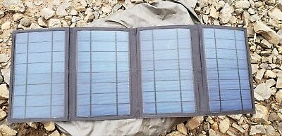 Instapark Mercury27 27-watt Compact Foldable Solar-powered Battery Charger... (Ext Battery Charger)