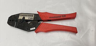 Amphenol Rf Ratcheting Hand Crimp Crimping Tool