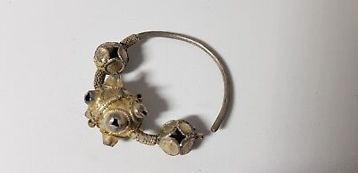 Scandinavian Silver-Gilded Ear-Ring  10th-13en c. AD