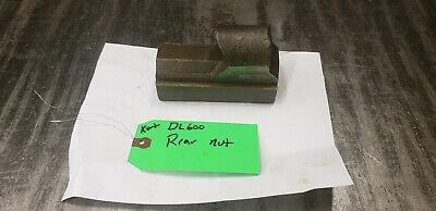 Kurt Dl600-3r Rear Nut Fits Dl600 Double Lock Machinist Vise. Shelf 69