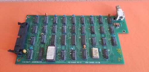 Cincinnati Inc. PCB 840625 ASSY 840626 Circuit Board ***USED*** JML Warranty!!!